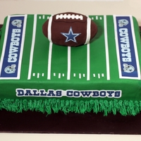 Dallas Cowboys Groom's Cake