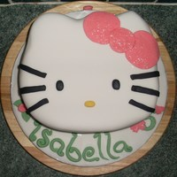 Hello Kitty another hello kitty cake! i was asked to do the same as my other one...altho i change a couple of details to make the cake individual for...