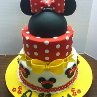 Minnie Mouse Birthday 1st Birthday....10-8-6in