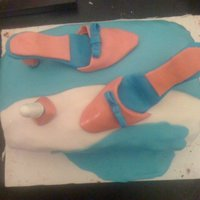 My First Shoe Attempt   FIrst time i tried to make shoes lol..
