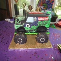 Ethen My first ever vehicle cake. I didn't even know what this truck looked like until I started Googling images in preparation! The...