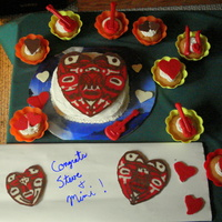 Native American Art Cake I made this cake for my dad and his new wife, who love Native American art. I traced the design with melting chocolate, but the actual...