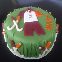 Hockey Cake Verry difficult theme I think..