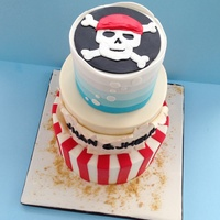 Pirate Theme Cake Pirate