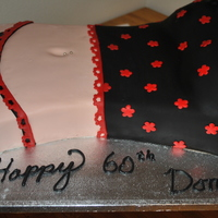 Donnys Birthday Cake this cake is for my sisters neighbor. He is turning 60 and his wife asked me to make him a cake TFL