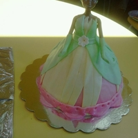 Princess Tiana Cake I did this cake for our oldest grand-daughter's 3rd birthday this year...she absolutely loved her cake!