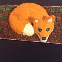 What Does The Fox Say Hubbys Birthday Cake What Does The Fox Say? Hubby's Birthday Cake!