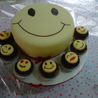 Smiley Cake do not know about other countries but in nigeria here, owing a blackberry phone is the main thing. this cake is easily recognised as been...