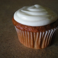 Pumpkin Spice Cupcake With Cream Cheese Frosting!