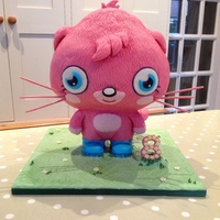 Poppet Moshi Monsters Cake Made For My Niece Amis 8Th Birthday Poppet Moshi Monsters cake made for my niece Ami's 8th birthday.