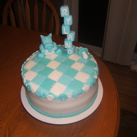 Baby Blue Hippo Made this cake for my Nephew. The cake was pecan butterscotch and filled with vanilla frosting. Was a big hit not a slice was left. I...