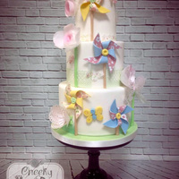 Heres My Finished Cake From The Amazing Zoe Clark Cakess Class On Paper Crafting On Cakes I Was Just So Blessed To Have Been Chosen To W Here's my finished cake from the amazing, Zoe Clark Cakes's class on Paper Crafting on Cakes. I was just so blessed to...