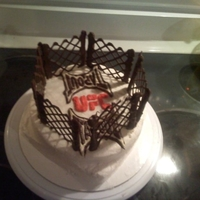 Ufc Cake Cake for fight night