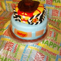 Woody Toy Stoy Cake