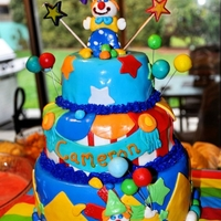 Clowning Around This one I made for my son's 6th Birthday!
