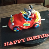 The Wiggles Big Red Car Cake The Wiggles Big Red Car cake
