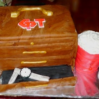 Red Solo Cup Retirement Cake For A Machinest   Red solo cup retirement cake for a machinest.