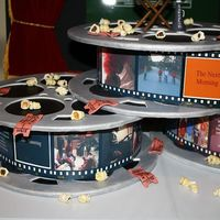 Bar-Mitzvah Cake - Movie Director Theme