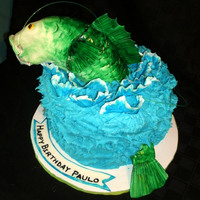 Catch Me If You Can Fish Jumping Out Of The Cake   Catch me if you can! Fish jumping out of the cake