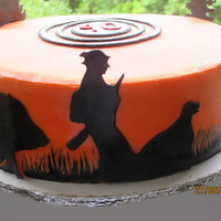 Hunting Cake For A 90 Year Old Man   Hunting cake for a 90 year old man