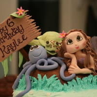 Mermaid Under The Sea Cake