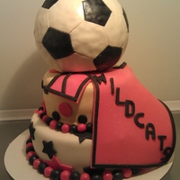 Soccer Cake Ball is made with rct.