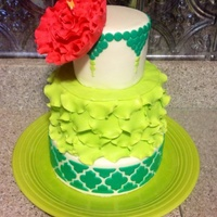 This Cake Makes Me Want A Margarita Or A Pina Colada I Made It Just For Fun   This cake makes me want a margarita or a pina colada! I made it just for fun.