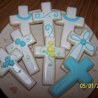 Cross Cookies Cross cookies favor for 1st Communion Party
