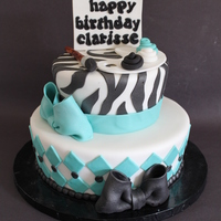 Tapered Art Themed Cake