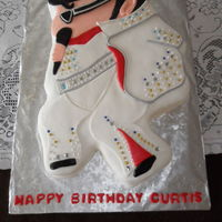 Elvis Cake   I've never done a cake of The King before.