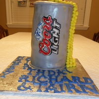 Coors Lite Cake