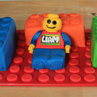 Lego Liam Made for a 1st birthday. I thought blocks would have been super simple to complete...not really the case! Took me longer than I expected...