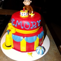 Curious George 2-Tier Circus Theme