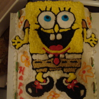 Sponge Bob This is for my boss's granddaughter! She will be 4..