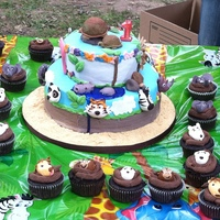 1St Birthday Zoo Animals