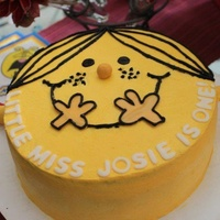 Little Miss Sunshine Cake And Smash Cake Little Miss Sunshine cake and smash cake