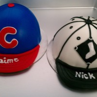 Sox Vvs Cubs Mmf covered couple shower cake bride a cubs fan groom sox fan :) tfl!