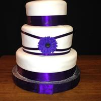 Purple Wedding Cake *