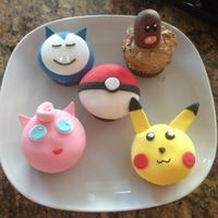 Pokemon Cupcakes *