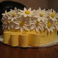 Daisy Birthday Cake *