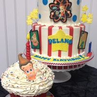 Jimmy Neutron Cake