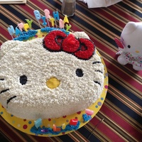 Hello Kitty All Butter Buttercream Cake Hello kitty all butter buttercream cake