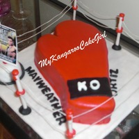 Mayweather And Ortiz Ko Cake