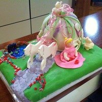 Cinderella Coach Made for a co-workers little girl for her birthday who LOVES Cinderella