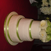 3 Flavors Wedding Cake Each tier has a different flavor and filling. First tier is chocolate cake with fresh strawberries filling, second tier is lemon cake with...