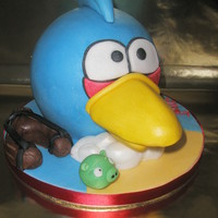 3D 'andry Birds' Many thanks to Englishcakelady for yet another fab tutoria!! My 2 young grandsons decided on this for my hubbies birthday cake...He was...