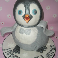 3D Happy Feet Cake Ohhh My I Lost Sleep Over This One Lol My First Attempt At A 3D Cake 3 Maderia Cakes Carved Filled With Butterc 3D 'Happy Feet' cake. Ohhh my... I lost sleep over this one lol!! My first attempt at a 3D cake. 3 maderia cakes carved, filled...