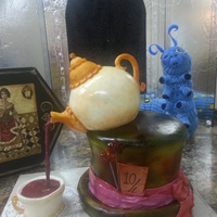 My Favorite Cake Thus Far Mad Hatter Tea Party For My 4 Year Old Granddaughter My favorite cake thus far! Mad Hatter Tea Party for my 4 year old granddaughter.