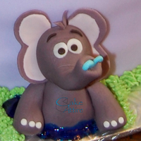 Jungle Animals   elephant, fondant + tylose powder