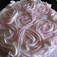This Woman's Work Rose Cake I made this cake for a good friend and her family. Her mother is at the end of her battle with breast cancer. I wanted to make her a...